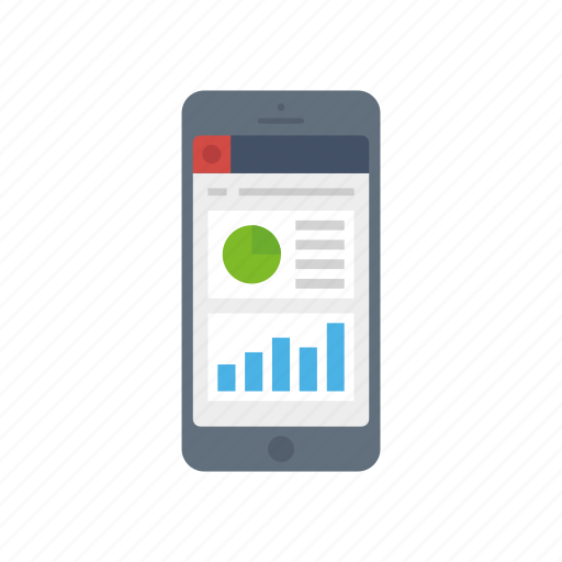 chart, cloud, crm, dashboard, iphone, pie, praph icon