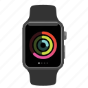 activity, apple, watch icon