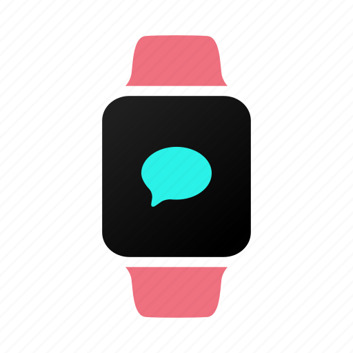 applewatch, bubble, chat, conversation, imessage, text, watch icon