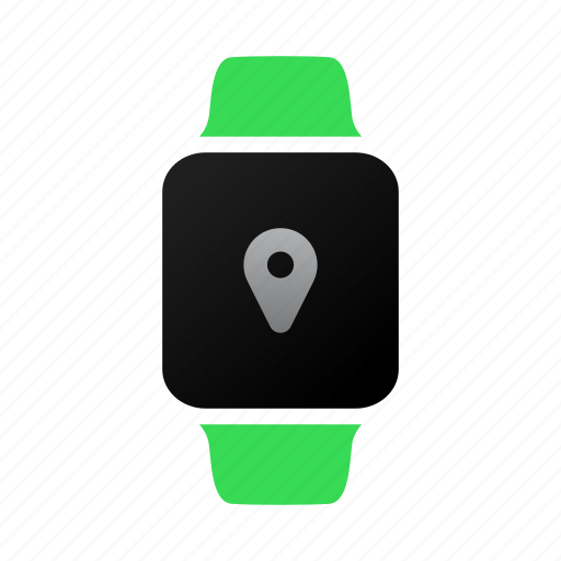applewatch, direction, geo, gps, map, place, watch icon