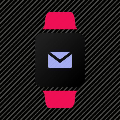applewatch, envelope, inbox, iwatch, mail, notification, watch icon