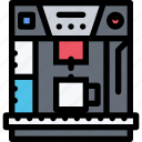 appliances, coffee maker, electronics, gadget, kitchen, technique icon
