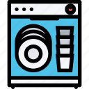 appliances, dishwasher, electronics, gadget, kitchen, technique icon