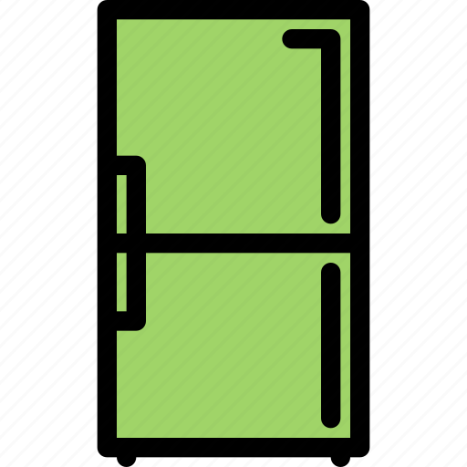 appliances, electronics, fridge, gadget, kitchen, technique icon