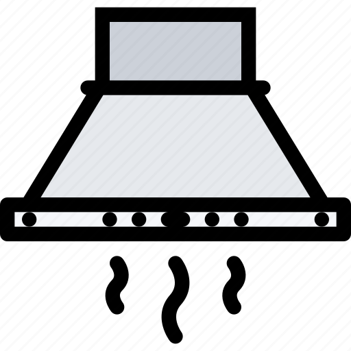 appliances, electronics, gadget, hood, kitchen, technique icon