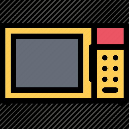 appliances, electronics, gadget, kitchen, microwave, technique icon
