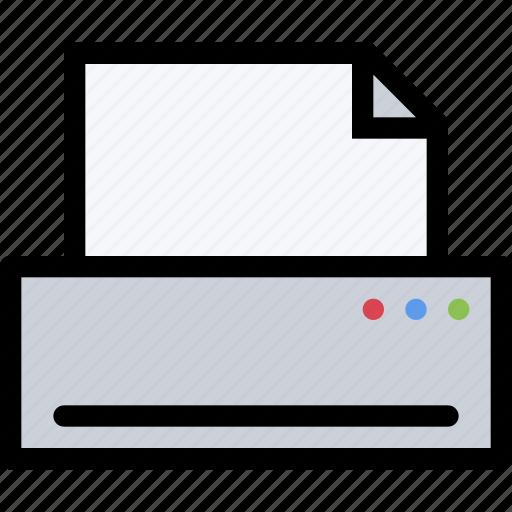 appliances, electronics, gadget, kitchen, printer, technique icon