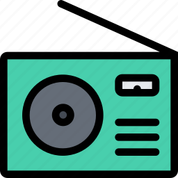 appliances, electronics, gadget, kitchen, radio, technique icon