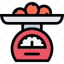 appliances, electronics, gadget, kitchen, scales, technique icon