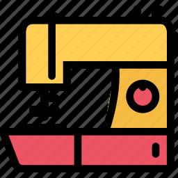 appliances, electronics, gadget, kitchen, sewing machine, technique icon