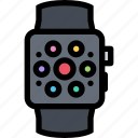 appliances, electronics, gadget, kitchen, smartwatch, technique icon