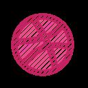 application, dribble, dribble logo, social media, website icon