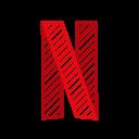 application, movie, netflix, netflix logo, website icon
