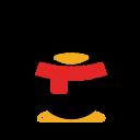 application, qq, qq logo, social media, tencent technology icon