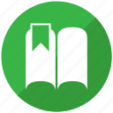 book, knowledge, library, stack, study icon