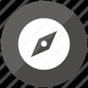 compass, navigate, navitate, orientation icon