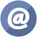 attherate, contact, email, mail icon