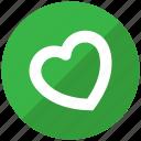 favourite, heart, life, like, love icon