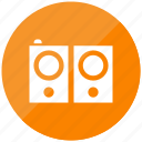 audio, sound, speaker, stereo, volume icon