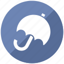 cover, forecast, insurance, security, umbrella icon