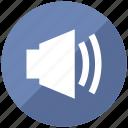 high, music, sound, up, volume icon