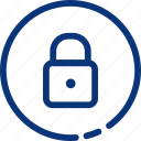 lock, protection, safe, safety, secure icon