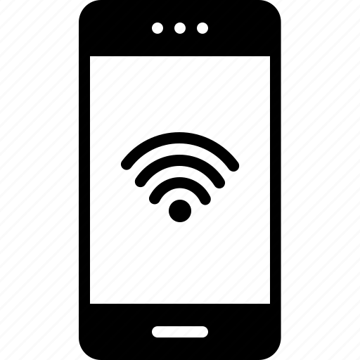 connection, connectivity, mobile, phone, wifi icon