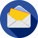 email, inbox, letter, mail, message, send, text icon