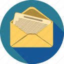 chat, communication, email, envelope, mail, message icon