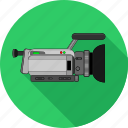 camera, film, media, movie, play, player, video icon