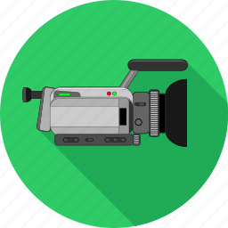camera, film, media, movie, play, player, video icon