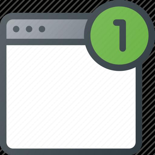 alert, app, application, notification, sign icon