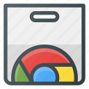 application, chrome, webstore icon
