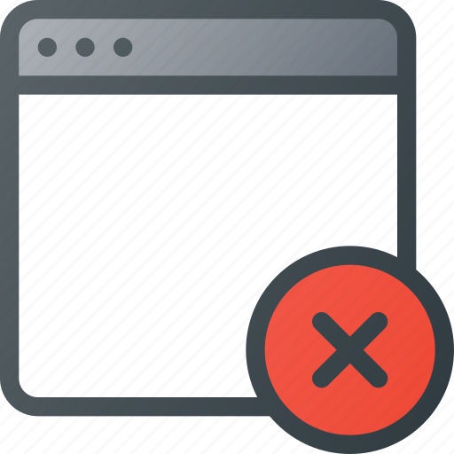 Clear, close, error, remuve, window icon - Download on Iconfinder