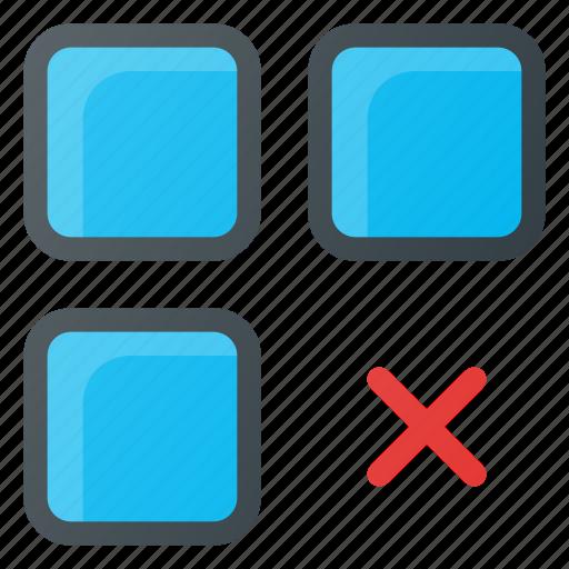 app, application, delete, remuve icon