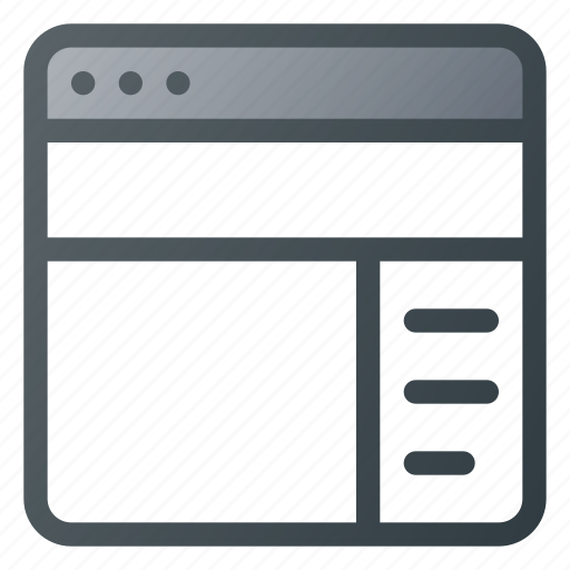 Details, panel, sidebar icon - Download on Iconfinder