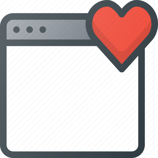 app, application, bookmark, favorite, love, rate icon