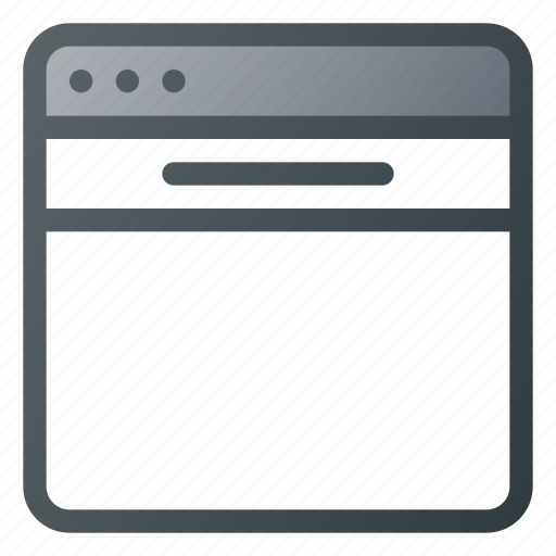 bar, browser, header, website icon