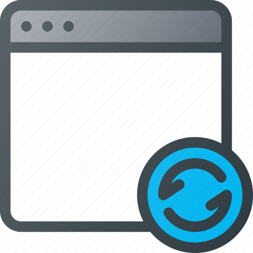 application, browser, refresh, reload, window icon