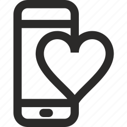 app, chat, date, love, phone, seo, sex icon