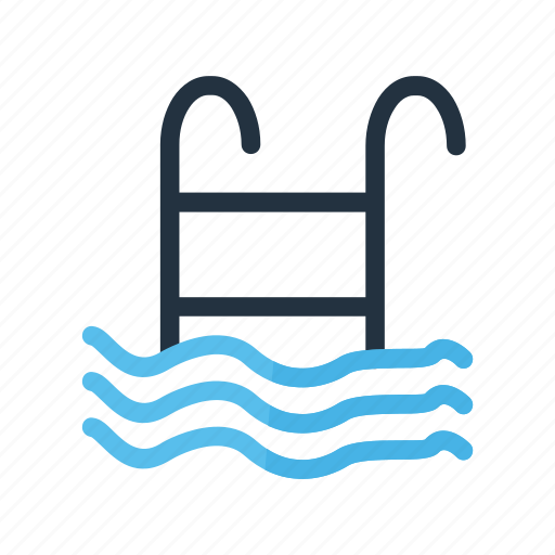 beach, nature, ocean, pool, swimming icon