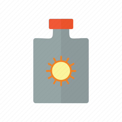 Beach, block, nature, ocean, sun icon - Download on Iconfinder