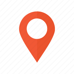 destination, map, navigation icon