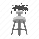 business, extraction, fountain, oil, resource, tower, wealth icon