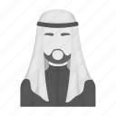 arab, clothing, head, man, national, sheikh icon