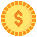 coin, currency, finance, money