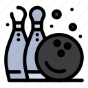 bowling, fun, game, pine, play