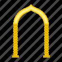 arabic, arch, eastern, islamic, monolith, muslim, oriental icon