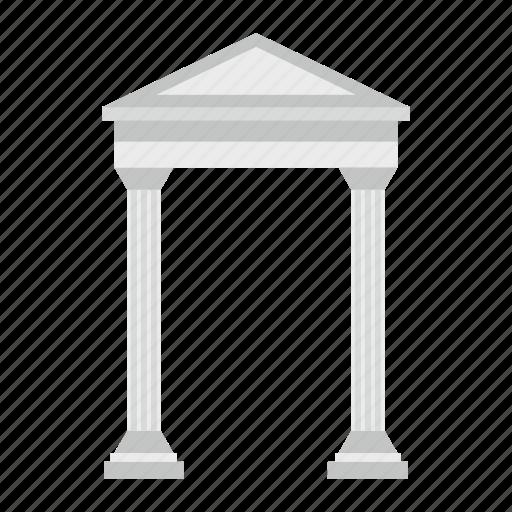 ancient, antique, architecture, column, old, portal, stone icon