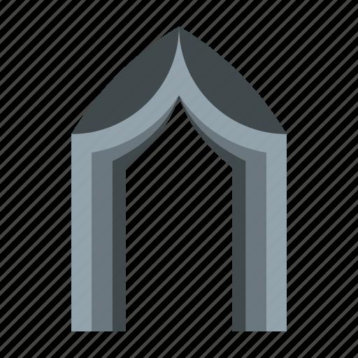 arch, architectural, architecture, frame, gothic, portal, shape icon